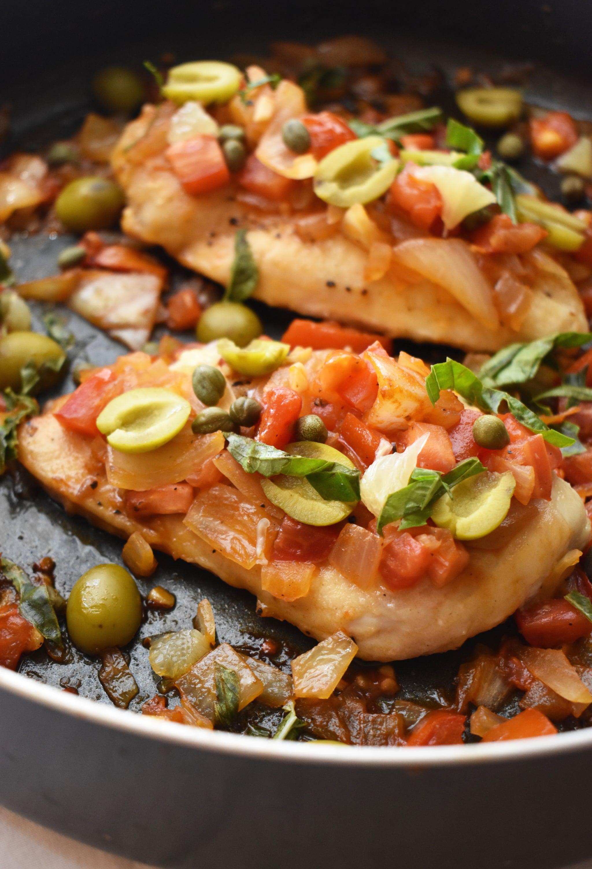 Gordon Ramsay S Chicken Cacciatore Recipe Popsugar Food