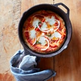 Homemade Pizza in a Cast-Iron Skillet Recipe