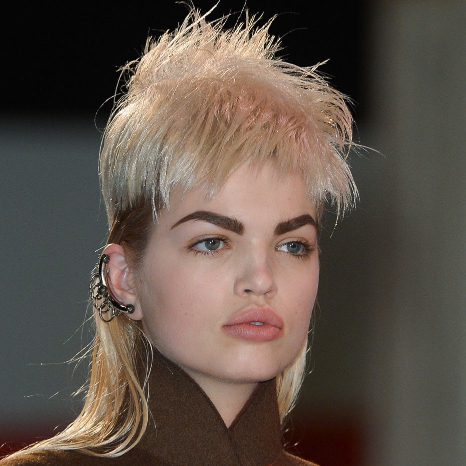 Jean Paul Gaultier Hair and Makeup | Fashion Week Fall 2013