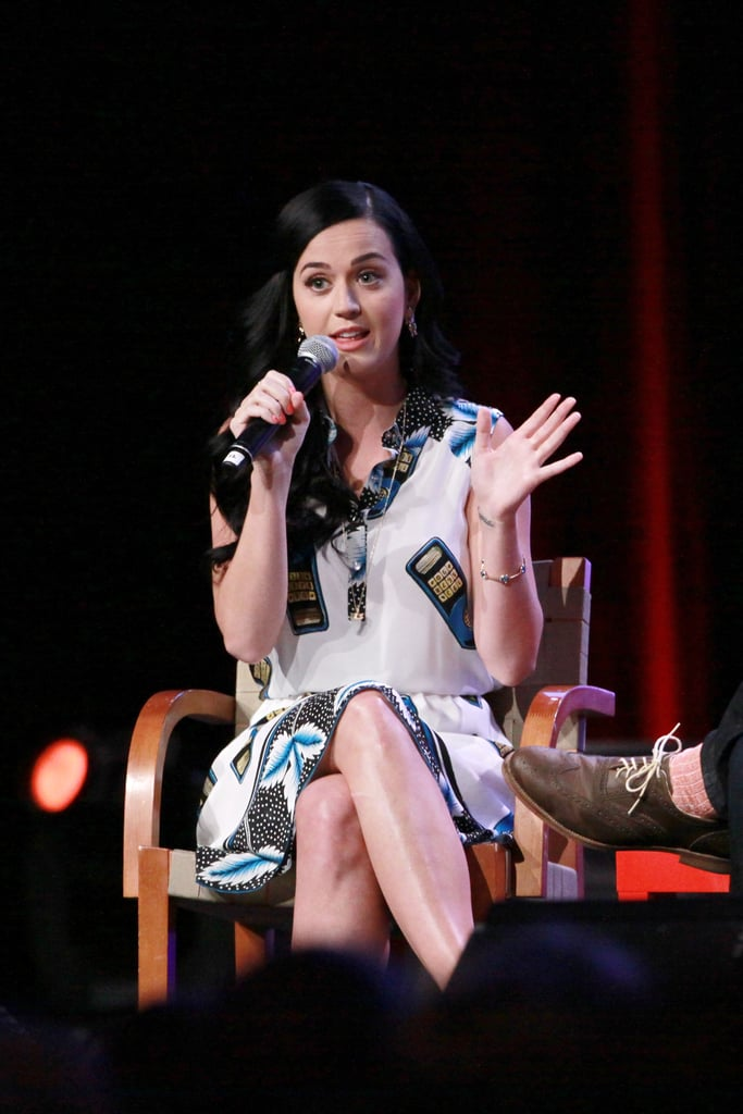 Katy Perry spoke about her third album.