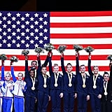 US Women's Gymnastics Teams Wins 2019 Worlds Team Final