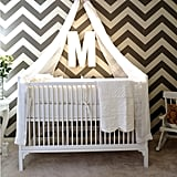 A DIY Canopied Crib