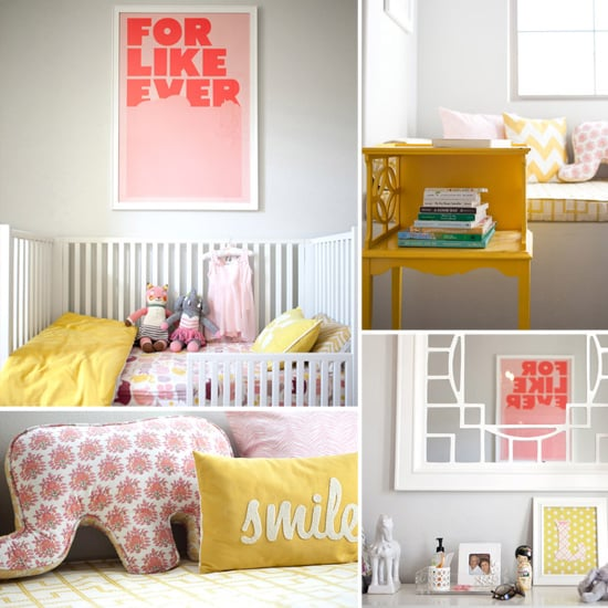 "Say ""Aloha"" to Leighton's Pink-and-Yellow Safari Nursery"