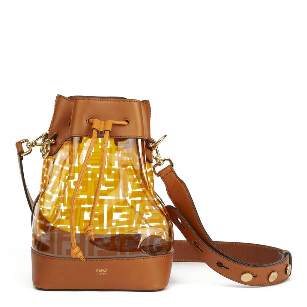 Fendi PVC Mon Tresor Bucket Bag