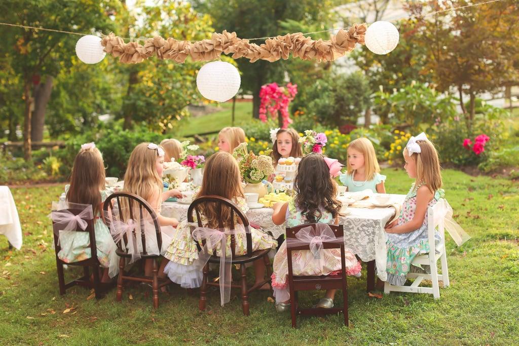 Enchanted Tea Party Ideas POPSUGAR Moms