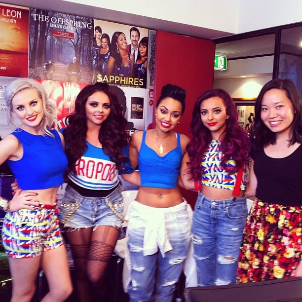 PopSugar editor Jess hung out with new British It group, Little Mix.