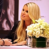 Jessica Simpson made an appearance at Dillard's in New Orleans.