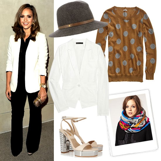 White Blazer For Fall