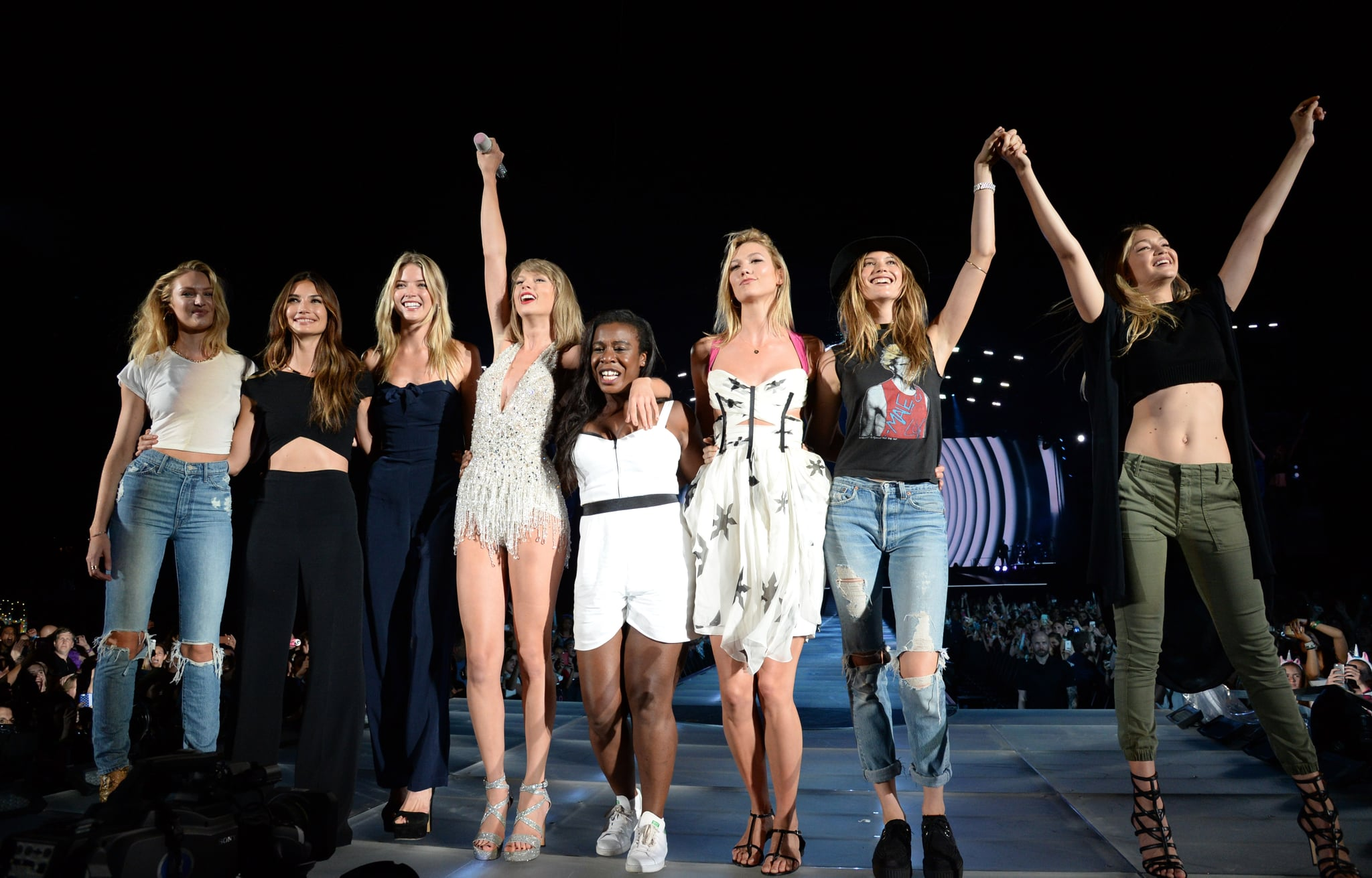 All Of The Guests On Taylor Swift S 1989 Tour Popsugar Celebrity