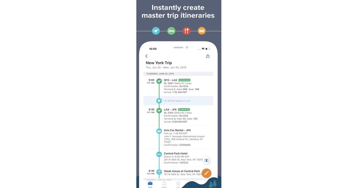 TripIt | Best Travel Apps 2019 | POPSUGAR Travel Photo 2