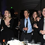 Emma Thompson, Diane Kruger, Danny Moder, and Julia Roberts danced to U2.