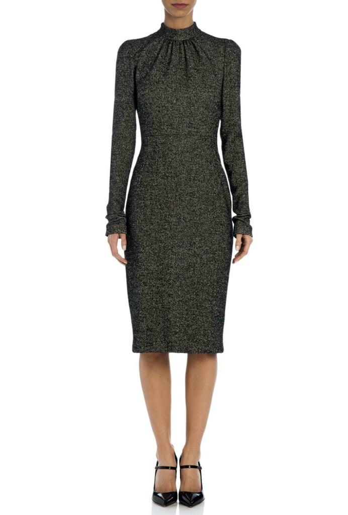 Dolce & Gabbana High-Neck Tweed Sheath ($1,995)