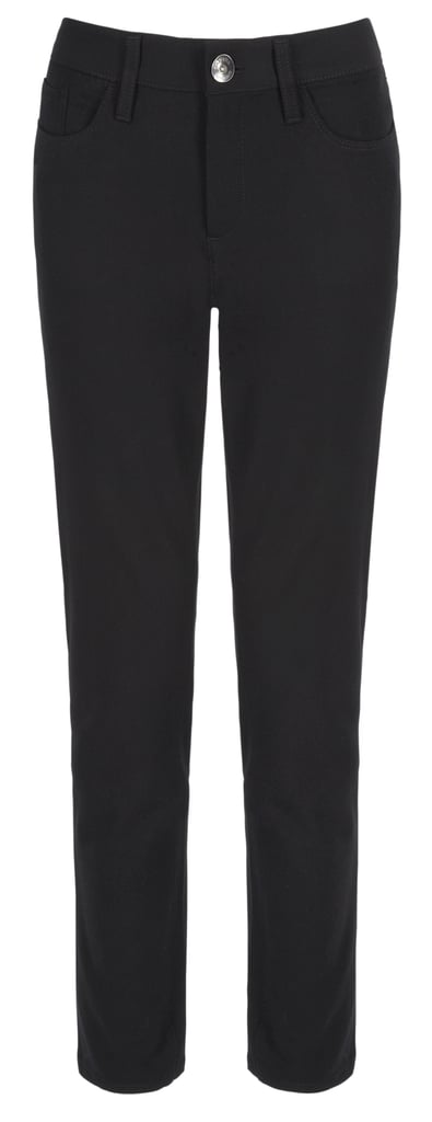Banana Republic Sloan 5-pocket skinny black pants ($90)