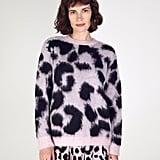 Etre Cecile Leopard Boxy Knit