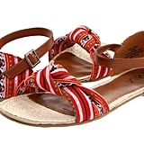 Pair these red printed sandals with a white maxi dress or jean shorts for extra flair. MIA Pamela Red Tribal Sandals ($50)