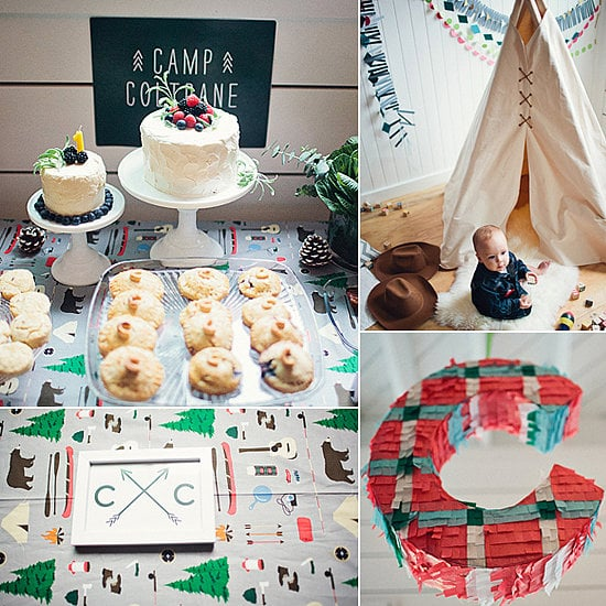 Modern Camp Inspired First Birthday It 39 S Party Time 57 Creative First