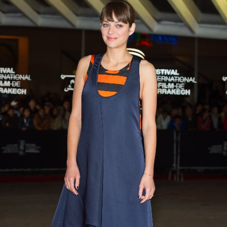Marion Cotillard Wears 2 Dresses at Once! Does It Work?