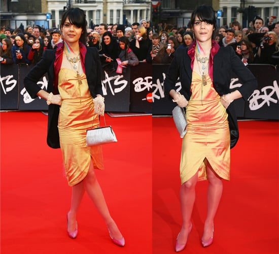 Bat For Lashes on the Brit Awards Red Carpet