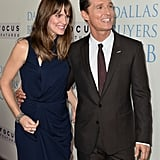 Matthew McConaughey and Jennifer Garner posed together at the event.