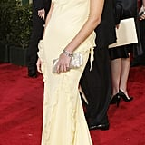 Charlize Theron in Christian Dior in 2004.