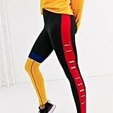 Nike Training Crop Leggings in Colourblock
