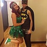 Batman and Poison Ivy From Batman & Robin