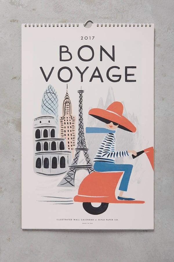Bon Voyage 2017 Calendar
