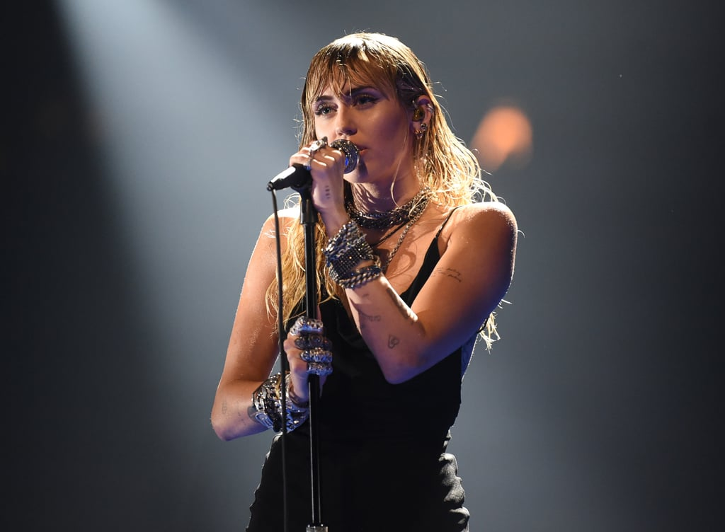 "Miley Cyrus is the queen of emotional live performances, and her time on stage at the 2019 MTV VMAs was no different. On Monday night, the 26-year-old singer performed her newly released single ""Slide Away"" live for the first time ever, and it was every bit as poignant as expected.  The singer hit the stage in a black dress and sang the heart-wrenching song, which seemingly addresses her recent split from actor Liam Hemsworth. Hemsworth and Cyrus dated on and off for 10 years before marrying in December 2018. However, in August, Hemsworth filed for divorce after seven months of marriage, citing ""irreconcilable differences."" Watch her powerful performance ahead."