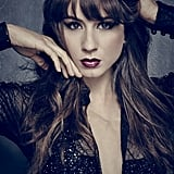 The cast photos are pretty steamy this season as well. Check out how edgy Spencer looks in her black outfit.