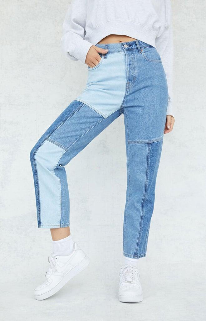 Shop Similar Two-Tone Jeans