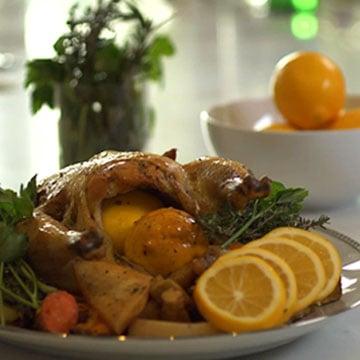 Day One: Lemony Roast Chicken