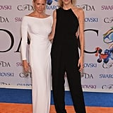 Anja Rubik at the 2014 CFDA Awards