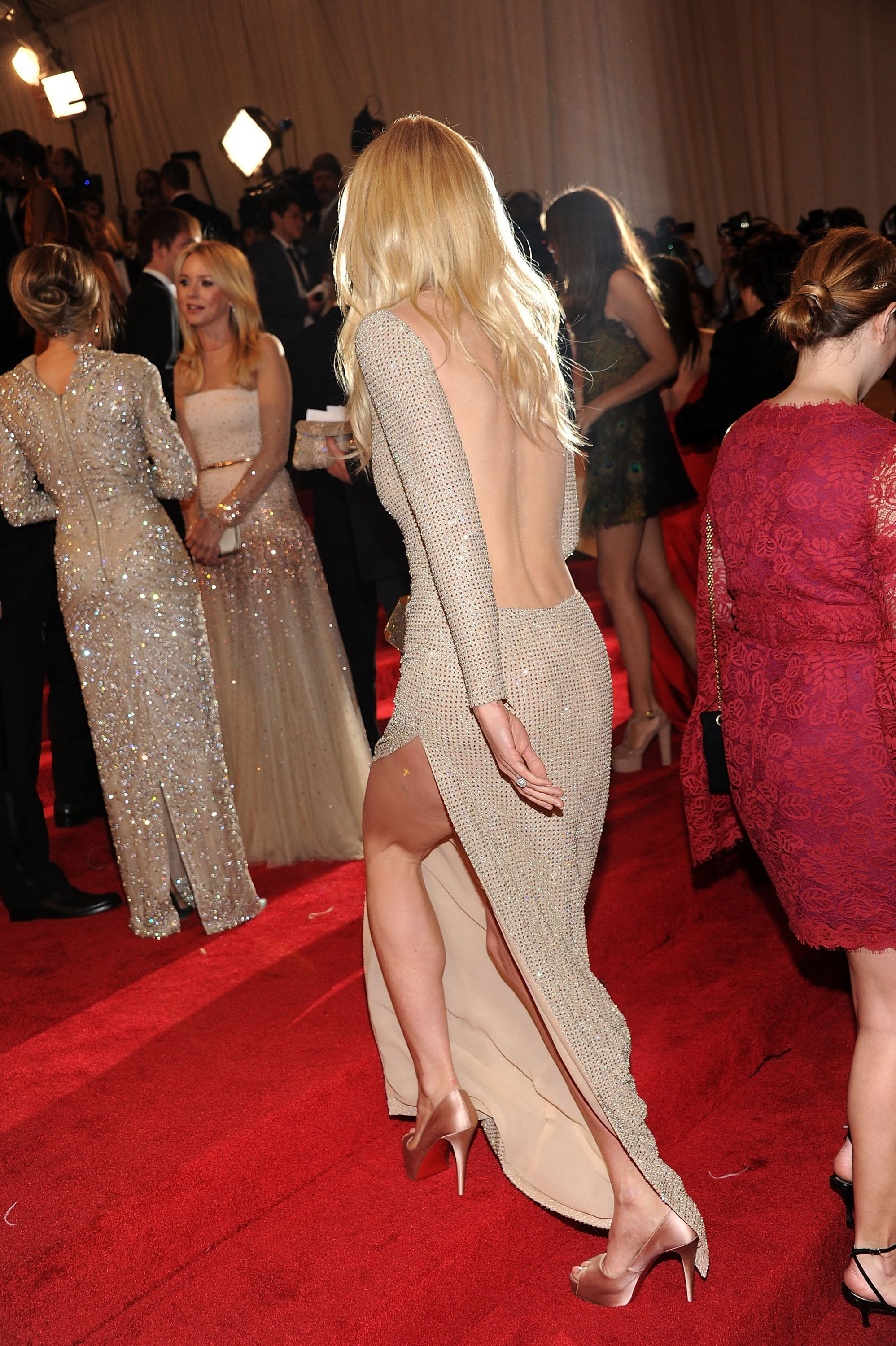 Gwyneth Paltrow Gets Sexy in Backless Stella McCartney at the Met Gala