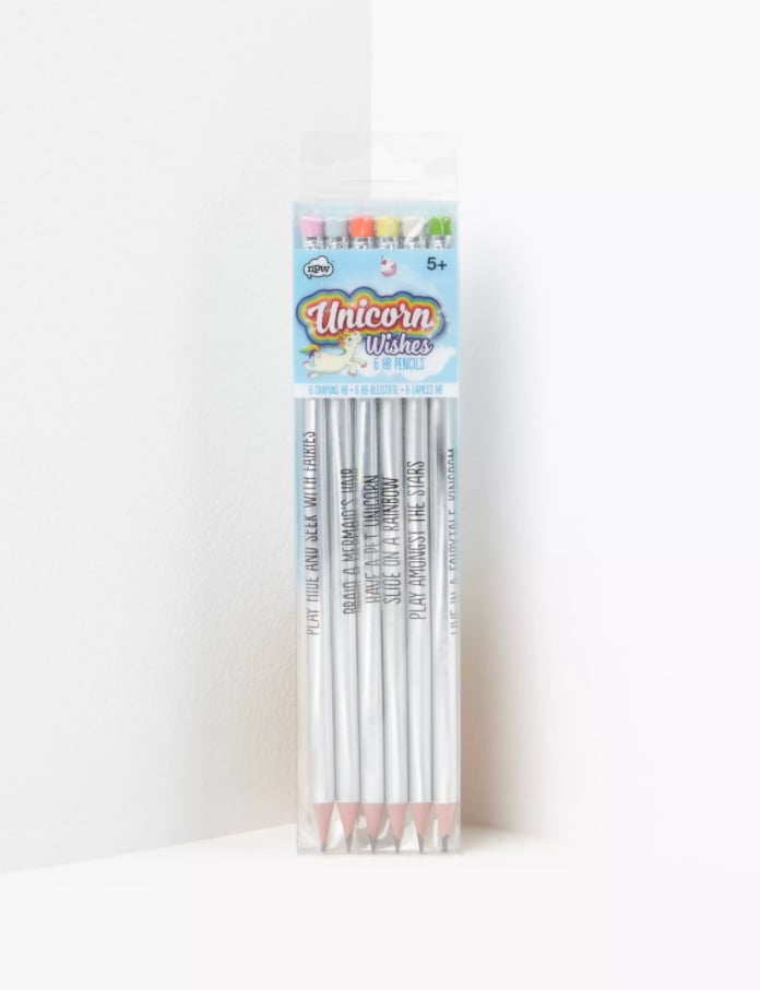 Unicorn Holographic Pencil Set