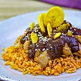 """Chicken-less"" Mole With Spanish Rice"