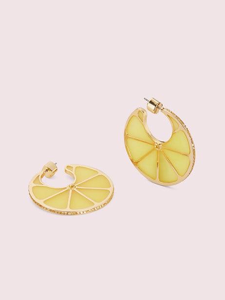 Tutti Fruity Lemon Hoops