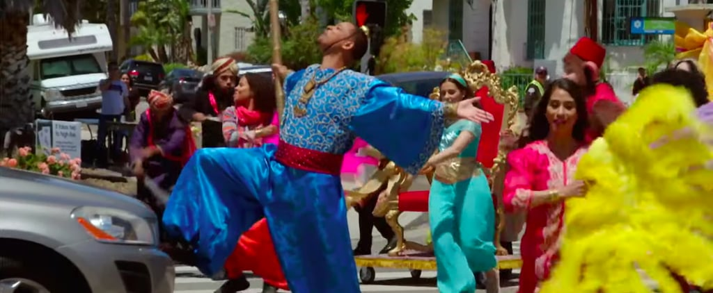 James Corden Crosswalk Musical With Cast of Aladdin Video