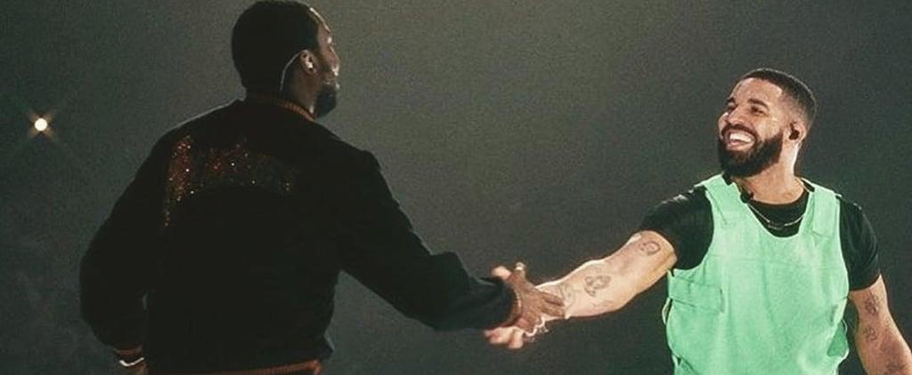 Drake and Meek Mill Reunite at Boston Concert