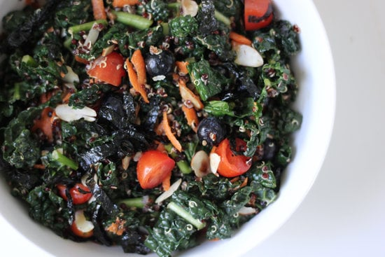 Sesame Kale and Quinoa Salad