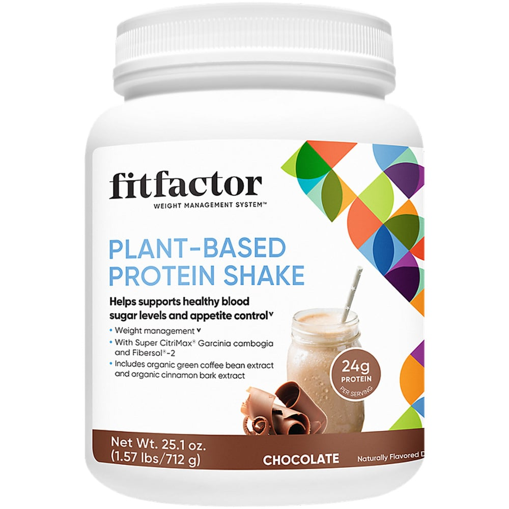 fitfactor Plant-Based Protein Shake - Chocolate