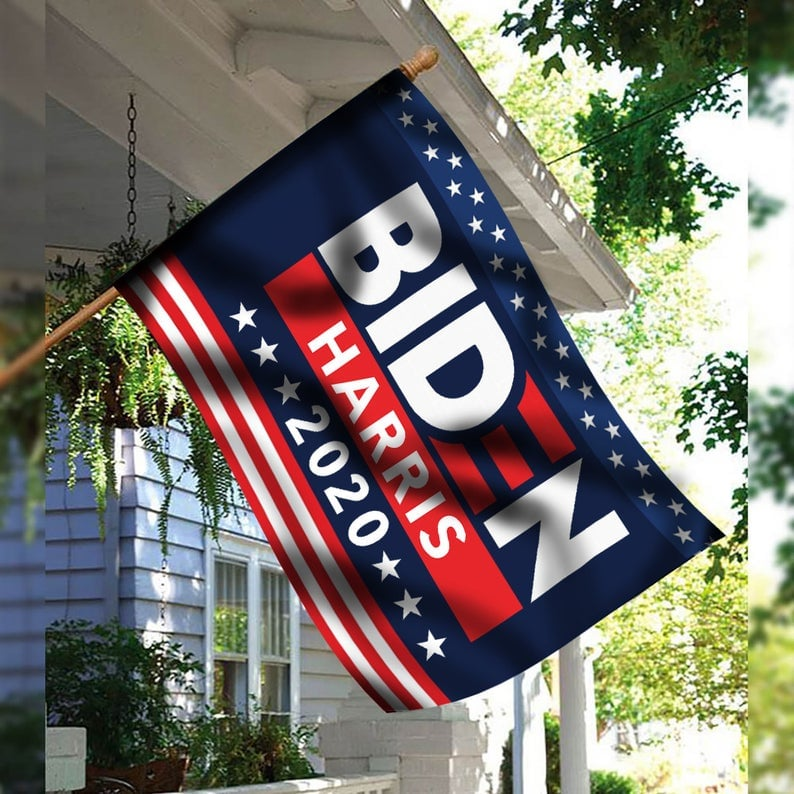 Joe Biden Kamala Harris 2020 Flag 25 Joe Biden Products We Ll Be Flaunting Every Day Until Nov 3 Popsugar Smart Living Photo 24