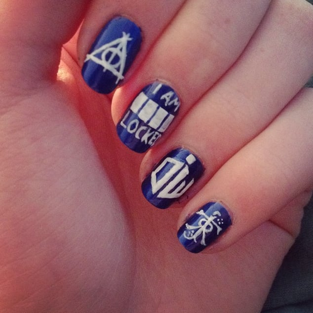 Nerdy nail art ideas popsugar tech prinsesfo Images