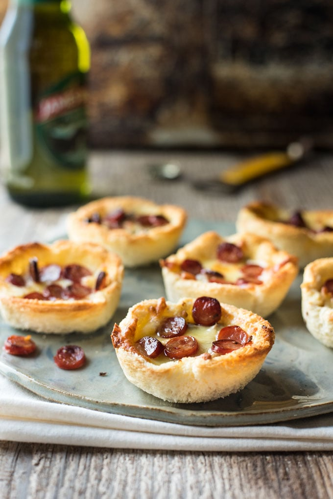 Garlic Bread Mini Pizzas