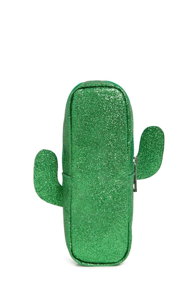 Glitter Cactus Makeup Bag ($8)