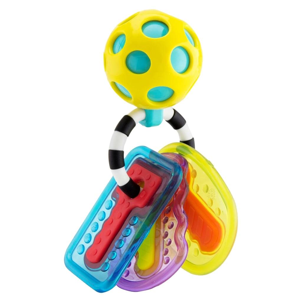 For Infants: Sassy Drool & Chew Keys