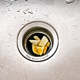 Keep your garbage disposal smelling fresh with citrus.