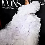 Winnie Harlow at the Harper's Bazaar ICONS Party During New York Fashion Week