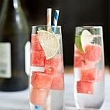 Fresh Watermelon White Wine Spritzer