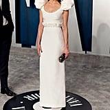 Aubrey Plaza at the Vanity Fair Oscars Afterparty 2020