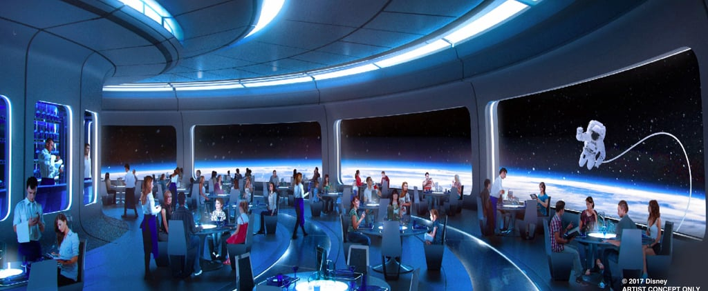 A New Space-Themed Restaurant Is Coming to Disney, and It's Out of This World!